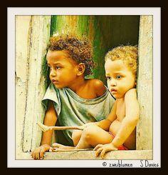 Cape Verde... little Creole babies <3