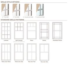 1000 Images About Ply Gem Window Styles On Pinterest