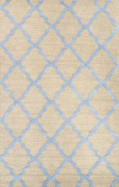 Rugs USA Homespun Moroccan Trellis Beige Blue Rug. 4th of July Sale Last Day! 80% OFF for all Rug USA Products! Area rug, carpet, design, style, home decor, interior design, pattern, trend, statement, summer, cozy, sale, discount, free shipping.