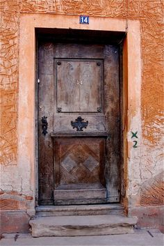 Old door in Sibiu - Sibiu, Sibiu