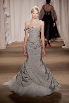 35 photos of Marchesa at New York Fashion Week Fall 2013.
