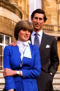 Engagement of The Prince of Wales and Lady Diana Spencer, 1981 by The British Monarchy, via Flickr