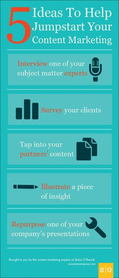 5 Ideas To Help Jumpstart Your Financial Services Content Marketing