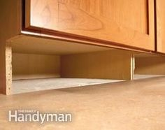 How to Build Under-Cabinet Drawers & Increase Kitchen Storage Don't let the space under your cabinets go to waste, great for secret storage. Or, install toe-kick drawers for storing aluminum foil, baking pans, etc. Diy Kitchen Storage, Kitchen Organization, Bathroom Storage, Organizing, Storage Organization, Under Cabinet Drawers, Storage Drawers, Storage Cabinets, Base Cabinet Storage