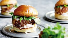 Pork belly sliders with gamashio mayonnaise and pickled daikon recipe from Favourites by Gary Mehigan. Chef Recipes, Pork Recipes, Cooking Recipes, Gary Mehigan Recipes, Pork Sliders, Slider Recipes, Cook At Home, Soup And Sandwich