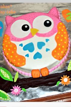 Could make this in a smaller version for Addy's personal cake for her 1st b-day!
