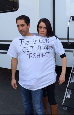 Tired of the shenanigans, the producers made @pagetpaget and I wear a shirt until we learned to play nice.