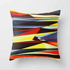 Nowhere Close Throw Pillow by Anai Greog - $20.00