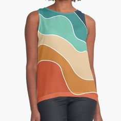 ind3finite Shop | Redbubble Rainbow Star, Star Stickers, Preppy, Athletic Tank Tops, Stylish, Cute, People, Shopping, Women