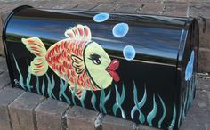 funky painted mailboxes - Google Search