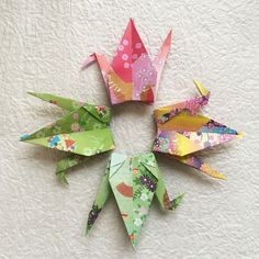 1000 6 Japanese Style Pattern Chiyogami Origami by OrigamiLandDeco, $140.00