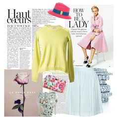 Hey! Lady!! Pastel & Neon, created by musicfriend1 on Polyvore