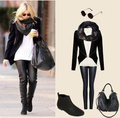 """Celebrity Street Fashion : Stacy Keibler"" by les-lydia-eleni-schaidreiter on Polyvore"