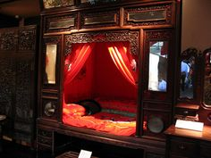 CHINESE WEDDING BEDS   traditional Chinese wedding bed   Flickr - Photo Sharing!