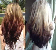 reverse-ombre