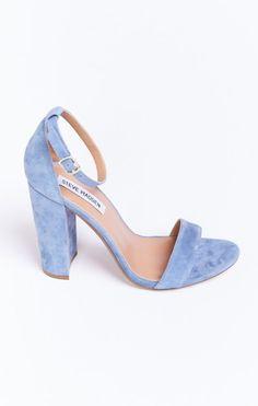 Steve Madden ~ Carrson Sandal ~ Blue Suede