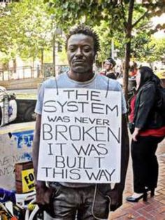 The System Isn't Broken, It Was Designed That Way: A Critical Analysis of Historical Racial Disadvantage in the Criminal Justice System Religion, Protest Signs, Protest Posters, Protest Art, Thing 1, Power To The People, African American History, Social Issues, Social Work