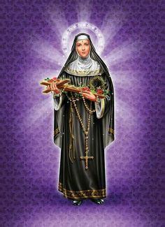 Santa Rita De Cascia, St Rita Of Cascia, Mother Mary Images, Images Of Mary, Religious Pictures, Jesus Pictures, Oracion A Santa Rita, Sta Rita, Sainte Rita