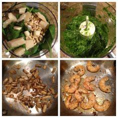 Pesto Pasta and Shrimp Recipe