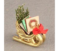 Sleigh w/ Greeting Cards