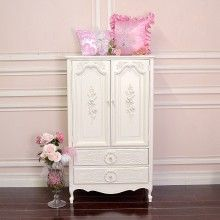 $895.00 Stunning White TV Armoire With Rosesu003e The Bella Cottage  Thebellacottage.com
