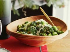 Oven Roasted Broccoli from CookingChannelTV.com