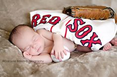 Newborn Posing, Baby Posing, Red Sox, Baseball, sports, #Yakima newborn photographer  http://dbaileyphotography.blogspot.com