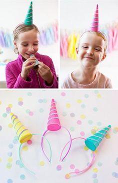 Des petites filles s'amusent à leur anniversaire