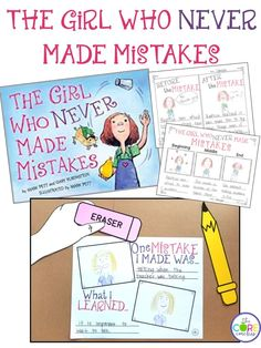 The Girl Who Never Made Mistakes read-aloud activities and lesson plans.