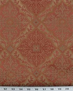 Doncaster Coral | Online Discount Drapery Fabrics and Upholstery Fabric Superstore!