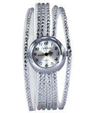 Lamkei Silver Analog Watch