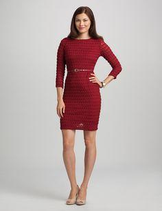 Red dress dressbarn misses