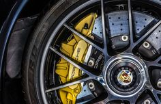 Put the Breaks on ... - Interesting details from a Porsche sports car