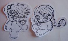 Voodoo dolls by ~Little-Spaz on deviantART