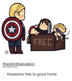 Ohh look at little Bucky,he wants to go to Steve so much❤️
