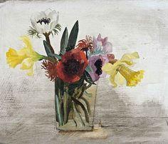 christopher-wood-flowers-1930.jpg (725×621)Flowers, 1930  Painting [CW 5]  Displayed  Oil on board  330 x 400 mm