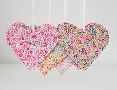 Tutorial - Liberty Gift Tags @ She Quilts a Lot