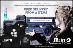 Free Delivery from T-shirt store http://the.maier-files.com/tshirts/