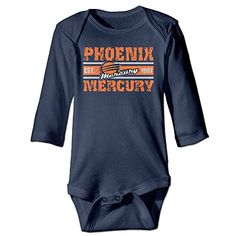 ElishaJ Phoenix Sport Mercury Babys Unisex Long Sleeve Jumpsuit Outfits Navy Size 12 Months >>> You can get additional details at