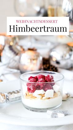 Christmas Desserts, Dessert Ideas, Cheesecake, Food And Drink, Breakfast, Sweet Desserts, Raspberries, Bakken, Christmas Deserts