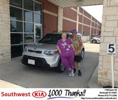 https://flic.kr/p/MFWKB1 | #HappyBirthday Laura from Gary Guyette Jr at Southwest KIA Rockwall! | www.deliverymaxx.com/DealerReviews.aspx?DealerCode=TYEE