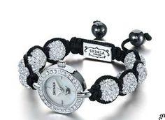 shimla crystal bracelet watch. #next #sparkly watch --- technically, if I got a nice watch face, I could make the rest...