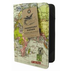 Maps Passport Cover: Hold the world in your hands with this case