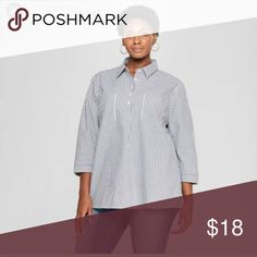 f6bfef406b87f Women sleeve striped blouse Create workweek looks or weekend brunch outfits  easily with the classic style