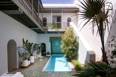 Riad Mena & Beyond Where: Marrakech, Morocco What's to love: The six-room riad is a serene and spacious retreat from the frenetic pace of Marrakech. Book rooms according to the size of your party or rent out the whole property. Palms, citrus, and banana trees make for a tranquil escape. Cool off in the pool or spend evenings watching films screened on the terrace. Good to know: Cap off your visit with a few days of poolside lounging, yoga, and farm-fresh food at the hotel's country outpo...