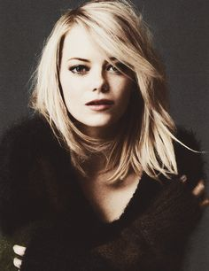 Emma Stone photographed by Paul Wetherall