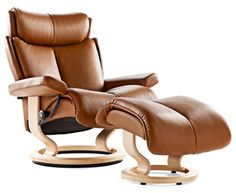 For Rick! Stressless Magic | Small Leather Recliner Chair