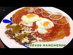 Huevos Rancheros recipe - How to cook mexican food - YouTube