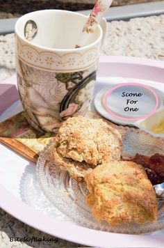 What do you want for a quick afternoon Teatime? Maybe like me you say YES to a scone every day? What if I tell you, you can have one ready in 15 minutes? Scones, Are You The One, Tea Time, Breakfast Recipes, Inspirational, Baking, Eat, Bakken, Backen