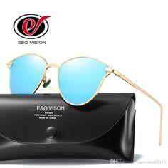 90af6890918 Mirror Sunglasses for Woman Cheap Polarize Sunglasses Sale Designe Brand  Gold Sunglases for Man Women s Vintage